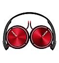 Sony ZX310 On-Ear Headphones - Red
