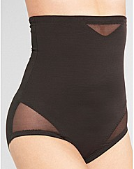 Sheer Hi-Waist Brief