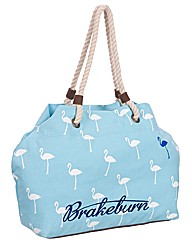 Ladies Flamingos Beach Bag