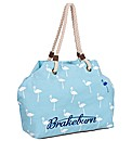 Brakeburn Flamingos Beach Bag