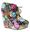 Iron Fist Ring Pop Wedge Shoe