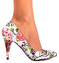 Iron Fist Creepy Rose Heel Shoe