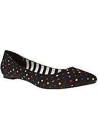 schuh Polly Pocket Polka Dot