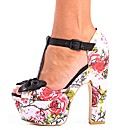 Iron Fist Creepy Rose Platform Shoe
