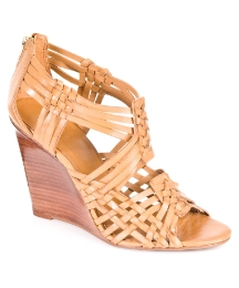 Tory Burch Tevray Tan Wedge