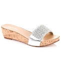 Daniel Goolsby Silver Sandal