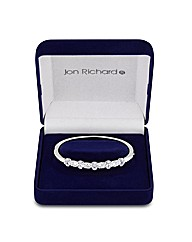 Jon Richard Cubic Zirconia Bangle