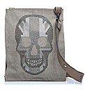 Moda in Pelle Skullbag Handbags