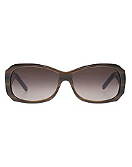 Fiorelli soft rectangular sunglass