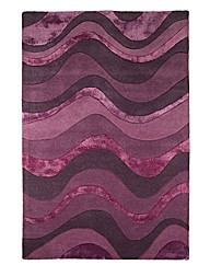 Saria Handtufted Wool with Viscose Rug