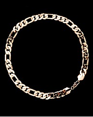 Gold Plated Gents Heavy Curb Chain