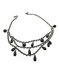 Black Jet Set Necklace