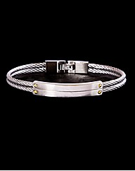 Gents Stainless Steel Wire Bangle