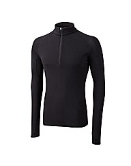 Tog24 Heat Mens Merino 200 Zip Neck