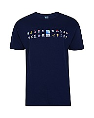 Rugby World Cup 2015 Map t-shirt
