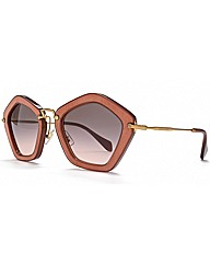 MIU MIU Star Sunglasses