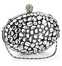 Lili Bou oval diamante prom bag