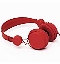 Coloud Headphones On Ear Colours Red