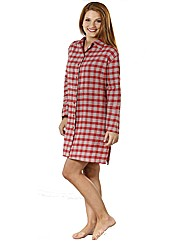 Naturana Ivory/Red Nightshirt