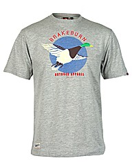 Mens Grey Duck Tee