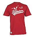 Mens Red Hawk Tee