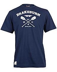 Brakeburn Navy Paddle T-Shirt