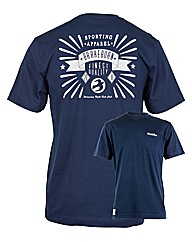 Mens Navy Ride Club Tee