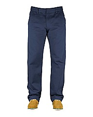 Mens Navy Reed Chinos