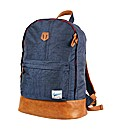Mens Navy Boulder Backpack