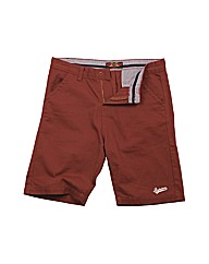 Mens Red Chino Shorts