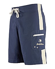 Mens Blue Stripe Boardshorts