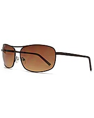 Peter Werth Textured Aviator Sunglasses