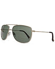Peter Werth Square Aviator Sunglasses