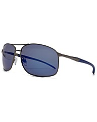 F-Polarised Metal Aviator Sunglasses