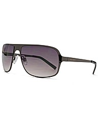 Peter Werth Metal Square Sunglasses