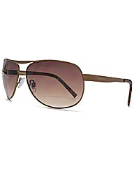 Peter Werth Teardrop Aviator Sunglasses
