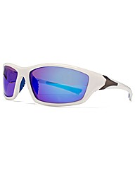 F-Polarised Lug Trim Plastic Sunglasses