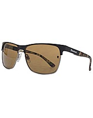Fenchurch Metal Brow Sunglasses