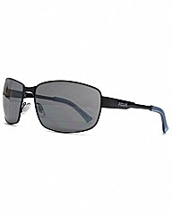 FCUK Square Sports Aviator Sunglasses