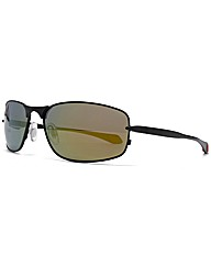 F-Polarised Flex Hinge Metal Sunglasses