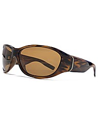 F-Polarised Full Chunky Wrap Sunglasses