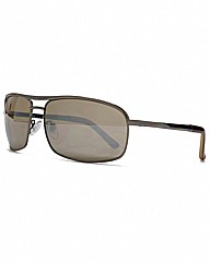 FCUK Metal Rectangle Sunglasses