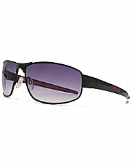FCUK Metal Sports Wrap Sunglasses