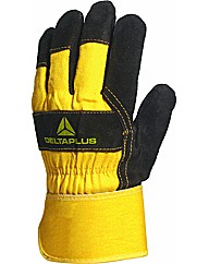 Deltaplus Cowhide Leather Glove