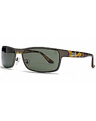 Endymion Square Metal Sunglasses