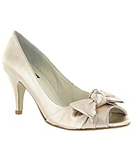 Marta Jonsson Peep Toe Court Shoe
