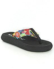 Rocket Dog Spotlight flat EVA flip flop