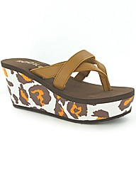Rocket Dog Delfina wedge EVA flip flop