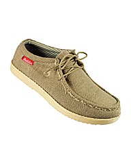 Mens Waverly Boat Shoe Sand