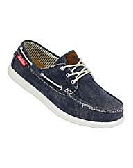 Mens Jerry Boat Shoe Navy